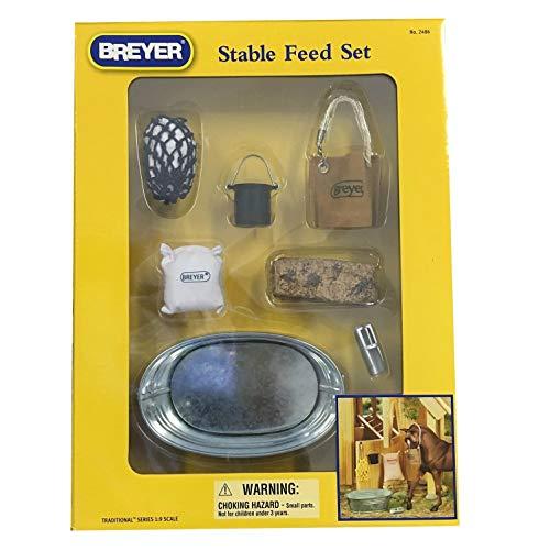 netproshop Breyer Traditional Stall Zubehör Fütterungs Set (7-teilig) -