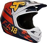 Fox Helmet V-1 Sayak, Orange, Größe M