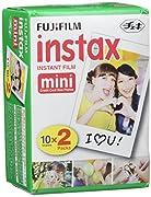 Película compatible con la cámara Fuji Instax Mini. Colores precisos y nitidez en cada captura gracias a la función Point and Shoot. 20capturas en cada pack.