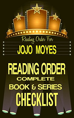 JOJO MOYES: SERIES READING ORDER & BOOK CHECKLIST: SERIES BOOKLIST ...