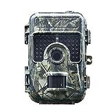 Wild Hunt, IP66, 16MP 1080P Trail Wildlife Camera Night Vision Motion attivato per Il monitoraggio all'aperto della Fauna Selvatica e la Sicurezza Domestica (Color : -, Size : -)