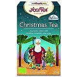 YOGI TEA - Christmas Tea - Infuso Biologico Natalizio con Cannella, Arancia, Vaniglia - 17 Filtri -