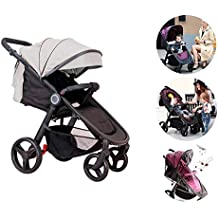 Star Ibaby Air 2018 - Silla de paseo reclinable con barra de seguridad