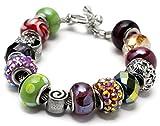 Best Cousin Bracelets - Cousin 15-Piece Hole Bracelet Kit, Large, Bianca Review
