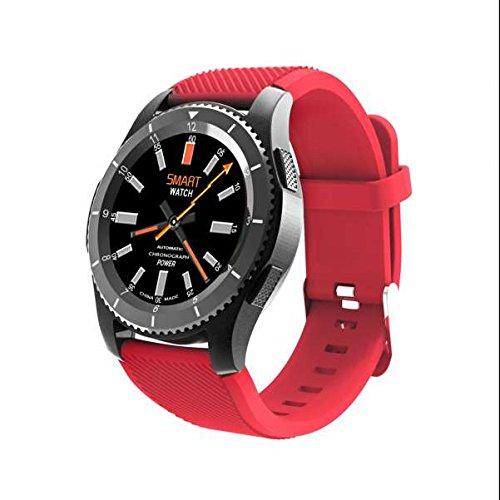 Armbanduhr Bluetooth Smartwatch Handy Uhr sportuhr,SMS Facebook Vibration,Herzfrequenz-Messgerät,HTC Monitor,Vibrationswecker,Fitness Tracker,Kalorienzähler,Smartwatch,Freisprechen Anrufe funktion mit allen iphone Android Handys