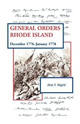General Orders, Rhode Island: December 1776-January 1778