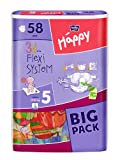 Bella Baby Happy Windeln Größe 5  Junior 12-25 kg Big Pack, 4er Pack (4 x 58 Windeln)
