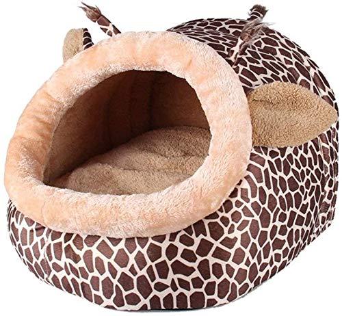 CVXCVCBCG Forma Felpa Jirafa pequeña Cama Animal