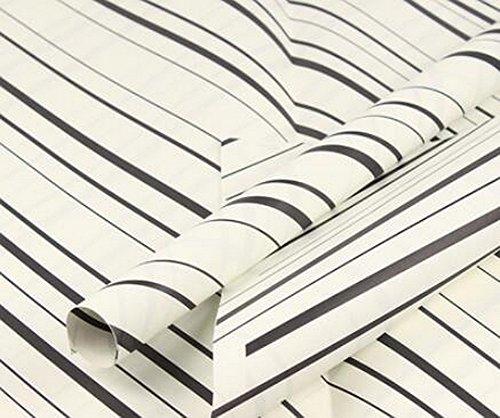 20 feuilles de rayures diagonales Matériaux d'emballage exquis papier Wrap