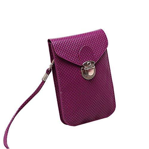 Anne , Borsa Messenger  Donna Purple