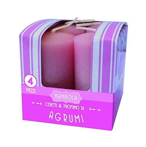 Cereria de Giorgio Melrose ceretti perfumadas, Cera, Rosa, 3x 3x 5.5cm, 4Unidad