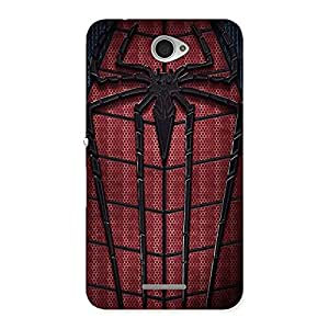 Web Wear Multicolor Back Case Cover for Sony Xperia E4