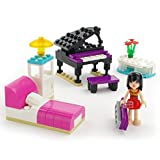 #6: Tickles COGO Girls Building Blocks Bricks Toys Birthday Gift for Kids 98pcs Girl