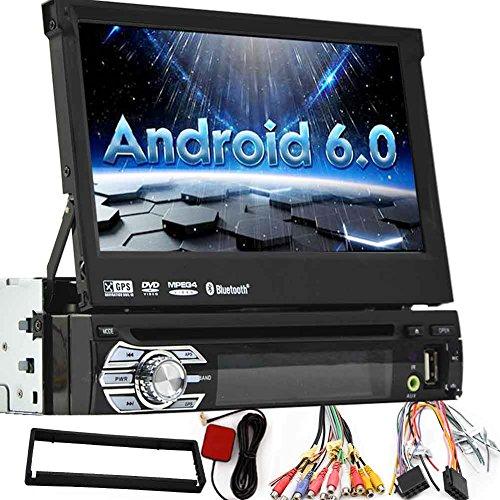 EINCAR Single Din Android 6.0 7-Zoll-abrutschen Auto-DVD-Stereo-Anlage, in der Schlag-1080P TFT/LCD-Touch-Screen-Auto-FM-Radio-Empfänger mit USB/SD/Bluetooth, MP4 / MP5 Auto-Spieler - Dvd-stereo-anlage