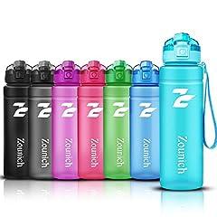 Idea Regalo - ZOUNICH Borraccia Sportiva BPA Free Tritan Plastic 500ml / 17oz, 700ml / 24oz /, 1000ml / 32oz-Bottiglia da Palestra Riutilizzabile Ideale da Corsa, Ciclismo, Scuola, Viaggi e Altro