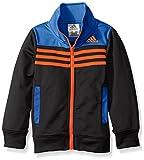 adidas Little Boys' Tiro and Tricot Jackets, Blue, 5