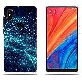 DIKAS Xiaomi Mi Mix 2S Hülle, Xiaomi Mi Mix2s Handyhülle, Gute Qualität Muster Transparentes Silikon TPU Art- und Weisekreatives Matte TPU für Xiaomi Mi Mix 2S Mix2s (5.99