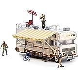 مجموعة ألعاب مكعبات بناء من ماكفارلين- مجموعة ذا ووكينج ديد تي في دالي ار في