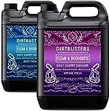Dirtbusters et propre Désodoriser Berry fraîche et Spring Fresh 3 en 1 concentré 2 x 5 litres professionnel pour tapis...