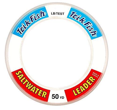 Trik Fish SWL0020001 Mono SW Leader Wrist Spool, 200-Pound, 100-Yards, Clear by Trik Fish -