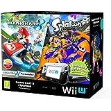 Nintendo Wii U 32GB Mario Kart 8 and Splatoon Premium Pack : Black [import anglais]