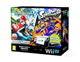 Nintendo Wii U 32GB Mario Kart 8 and Splatoon Premium Pack - Black