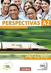 Perspectivas - Al vuelo: A2 - Kurs- und Arbeitsbuch mit Lösungsheft: Inkl. CDs mit sämtlichen Hörtexten und Vokabeltaschenbuch