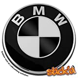 Car Innovations Stick'd Farbdekore für BMW, Schwarz