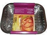 Prima Acero inoxidable bandeja fuente para horno rectangular para el horno lámina para el horno y fuentes para 27 x 20