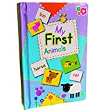 Boys Girls Toddlers Infants Baby Children Kids - Early Learning My First Animal Names Flashcards Box Set - Top Reviewed Educational - Easter Alternative Gift Present Early Learning Games & Toys Idea Age 12m+ Pre School Learning Set