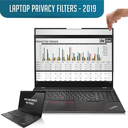 Abnehmbarer 14,0 Zoll Laptop-Sichtschutzfilter für Flache Glas-Breitbild-Displays (16:9) - einfaches An- und Ausziehen - Premium Anti-Blendschutz für Datenvertraulichkeit (GF140W9F)