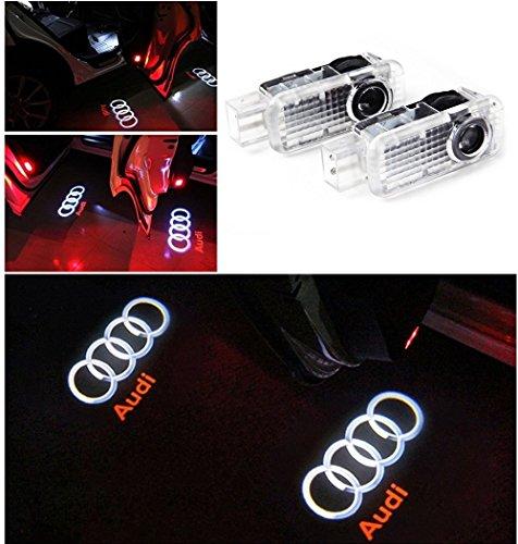 HU Fun life 2 Pack Auto Türbeleuchtung Tür Licht Door Shadow LED Logo 3D Laser Licht Projector Willkommen Licht