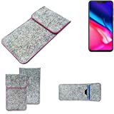 K-S-Trade® Protective Felt Case For Cubot P201 Protective