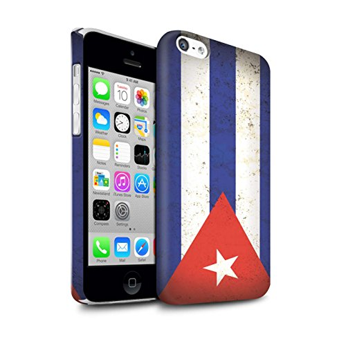 STUFF4 Matte Snap-On Hülle / Case für Apple iPhone 7 Plus / Dominikanische Republik Muster / Amerika Flagge Kollektion Kuba/Kubanisch