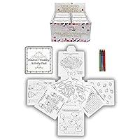 24 Wedding Favour Activity Pack.Childrens,Kids,party bag filler,box,puzzles,games