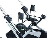 teutonia Adapter für Autositz Maxi-Cosi, Kiddy - schwarz