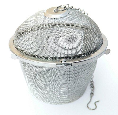 Gewürzkugel Teekugel Teeei Tee Ei Teesieb Tee - Brüher Ø ca. 8,5cm Rostfrei