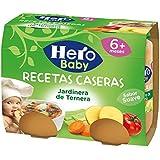 Hero Baby - Babyrecetas Jardinera De Ternera .2 x 190 g - [Pack de 6]