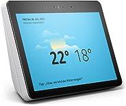 Echo Show (2. Gen.) Zertifiziert und generalüberholt, Premiumlautsprecher mit brillantem 10-Zoll-HD-Display, Weiß