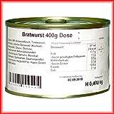 3 x 400g Hausmacher Dosenwurst Bratwurst MHD 4/19