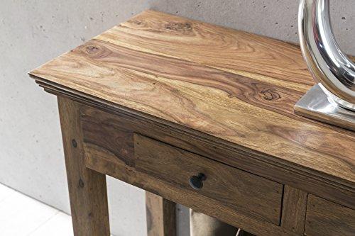 Credenza Moderna Corridoio : Wohnling tavolo console legno massiccio sheesham con 2