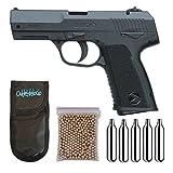 Pistola Perdigón Gamo PX-107 4,5mm. + Funda Portabombonas + Balines + Bombonas co2....