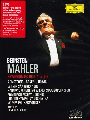 Gustav Mahler / Leonard Bernstein - Symphonies nos. 1, 2 & 3