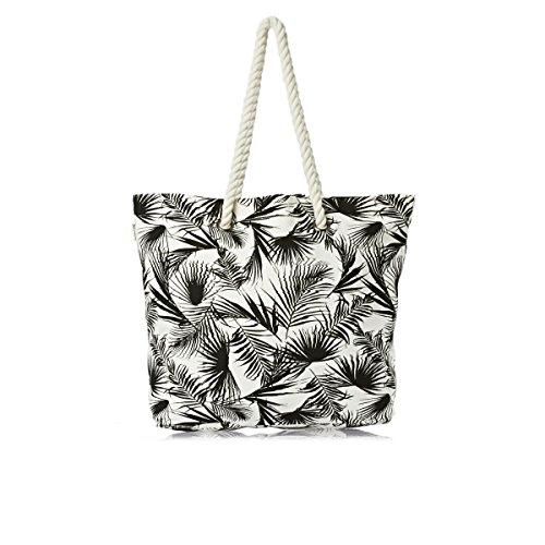 G.S.M. Europe - Billabong Damen Tasche Essential Bag Cremeweiss Schwarz