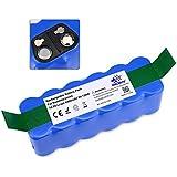 Batería de Repuesto 14,8V 6400mAh Li-ion para iRobot Roomba 500 600 700 800 serie