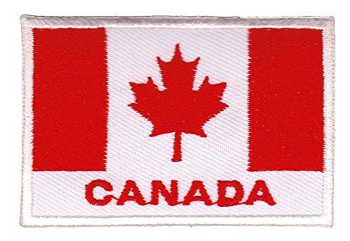 Flagge Canada Aufnäher Bügelbild Patch Applikation (Kanada Flagge Kissen)