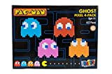 Strictly Briks - Pac-ManTM - Set de Ladrillos píxeles para Construir un Pack de 4 Fantasmas - Producto Oficial de BANDAI NAMCO Entertainment Inc