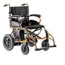 Isa Silla de Ruedas eléctrica Plegable Portátil Inteligente Ligero Ligero Movilidad Mayor Scooter con batería de