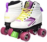 Roces Damen Rollerskates Kolossal, White-Purple-Yellow, 39, 550041-003 -