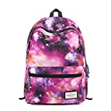 TRENDYMAX Galaxy Backpack Cute for School | 42x30x16cm | Holds 15-inch Laptop | Purple